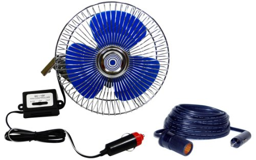 12 Volt Fans For Rv : ″ rv fan volt mountable vehicle and boat dash with