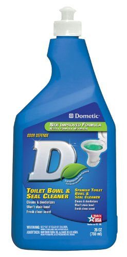 Dometic D1216001 Blue Toilet Bowl And Seal Cleaner 26 Oz