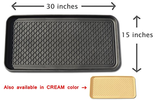 ... Paint, Pets, Garden, Laundry, Kitchen, Pantry, Car, Entryway, Garage,  Mudroom. Indoor Outdoor Storage And Floor Protection, Use As Cat Litter Mat  Or Dog ...