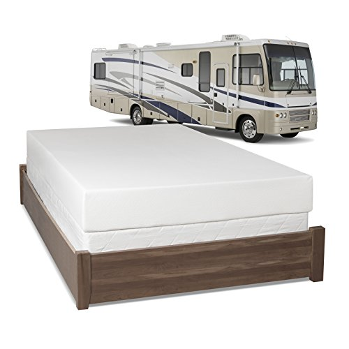 Serenia Sleep 8 Inch Memory Foam Rv Mattress Short Queen Basic Rv