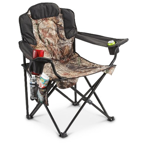 Guide Gear Heavy Duty Folding Camo Camp Chair 500 Lb